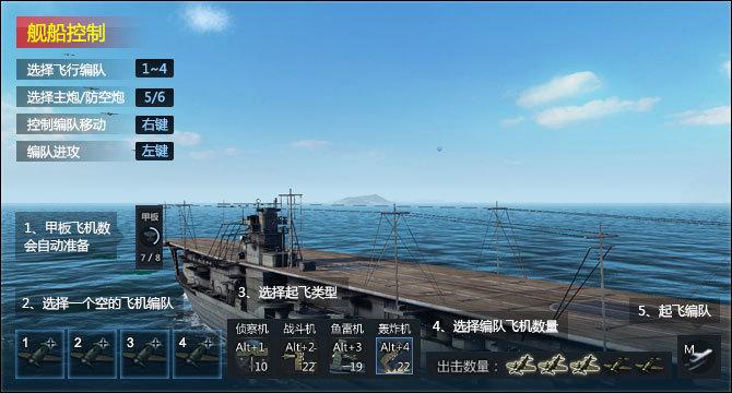 航母和舰载机操控