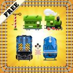 玩具火车拼图