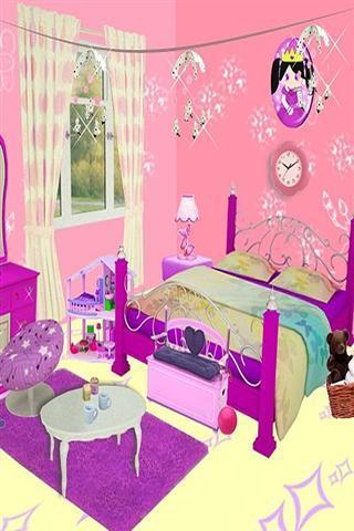 女生房间布置简笔画