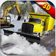 雪犁救市运:挖掘机