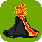 火山地图信息
