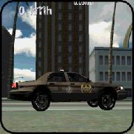警车司机模拟3 d