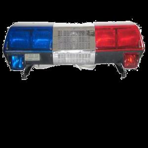 警车声和灯光效果