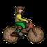 山地自行车男孩