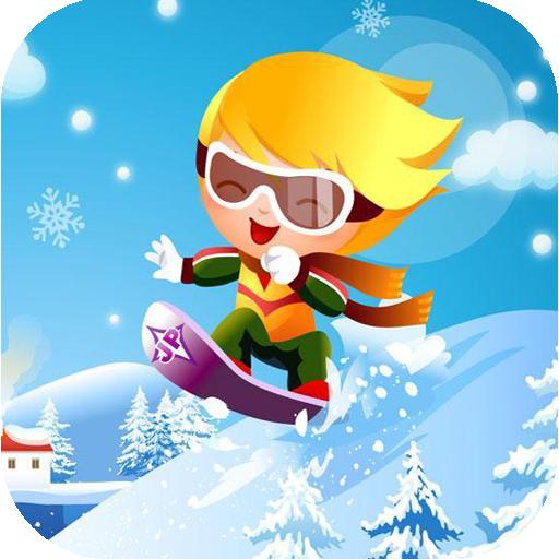 滑雪少年小游戏