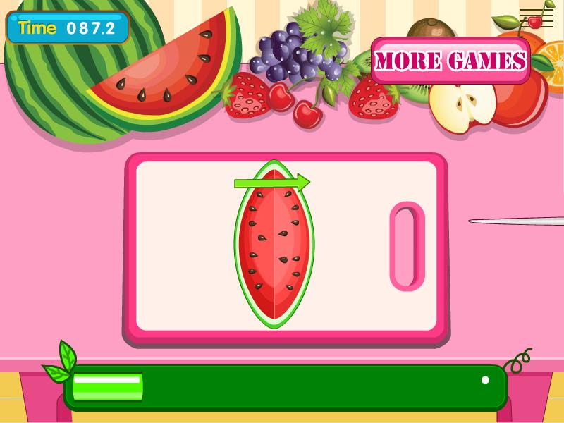 ppt西瓜水果素材边框
