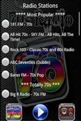 70年代收音机APP截图