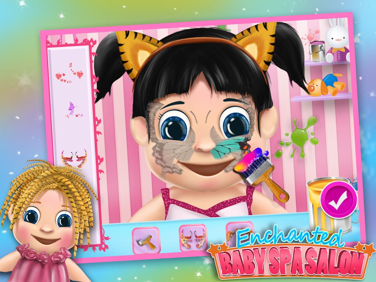 婴儿脸部彩绘艺术搽脸让这些可爱的婴儿更漂亮