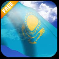 3D哈萨克斯坦斯坦国旗LWP